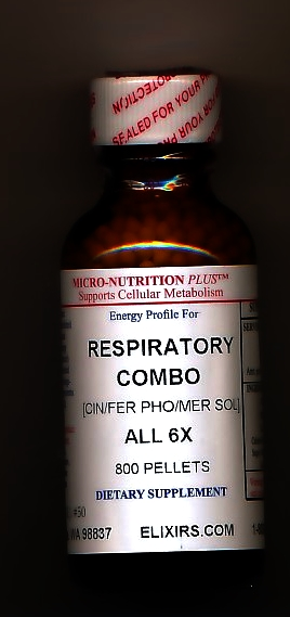 Click for details about *Respiratory Combo 6X economy 1 oz 800 pellets