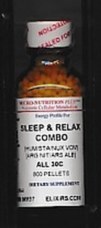 Click for details about Sleep and Relax Combo 30C economy 800 pellet