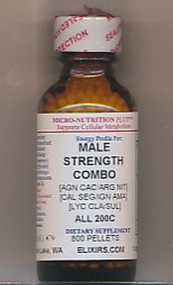 Click for details about Male Strength Combo 200C economy 800 pellets