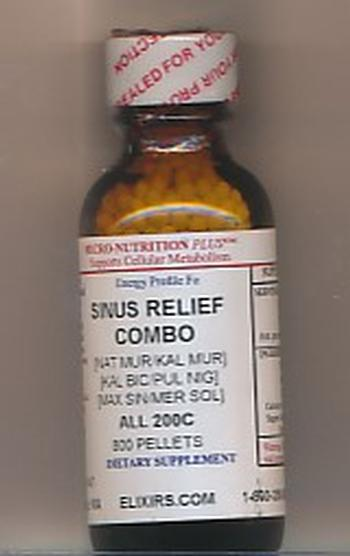 Click for details about Sinus Relief Combo 200C economy 800 pellets