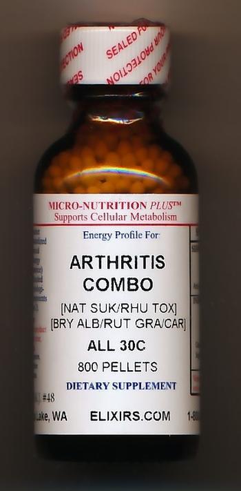 Click for details about *Arthritis Combo 30C economy 800 pellets