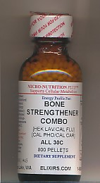 Click for details about Bone Strengthener Combo 30C economy 800 pellets