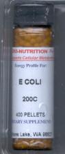 Click for details about E Coli 200C 400 pellets
