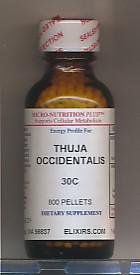 Click for details about Thuja 30C economy 1 oz 800 pellets