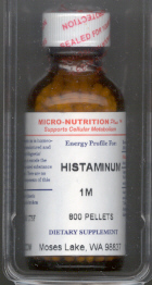 Click for details about Histaminum 10MM 1 fluid ounce. spray top