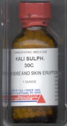 Click for details about Kali Sulphur 6X 1 oz 800 pellets 15% off SALE
