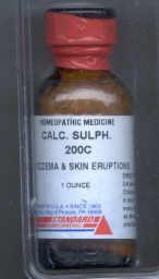 Click for details about Calcium Sulphur 200C 1 oz bottle with 680 pellets