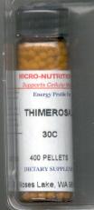 Click for details about Thimerosal 30C 400 pellets