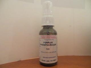 Click for details about Ferrum Phos       12X 1 fluid oz