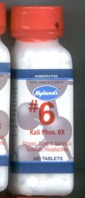 Click for details about Kali Phos #6 Potassium Phosphate 6X  500 tabs 10% SALE