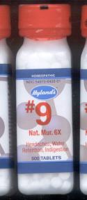 Click for details about Natrum Mur 6X 1000 tablets #9 CELL SALT 20% SALE