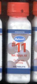 Click for details about Natrum Sulphur #11  6X  1000 tablets 20% off SALE!