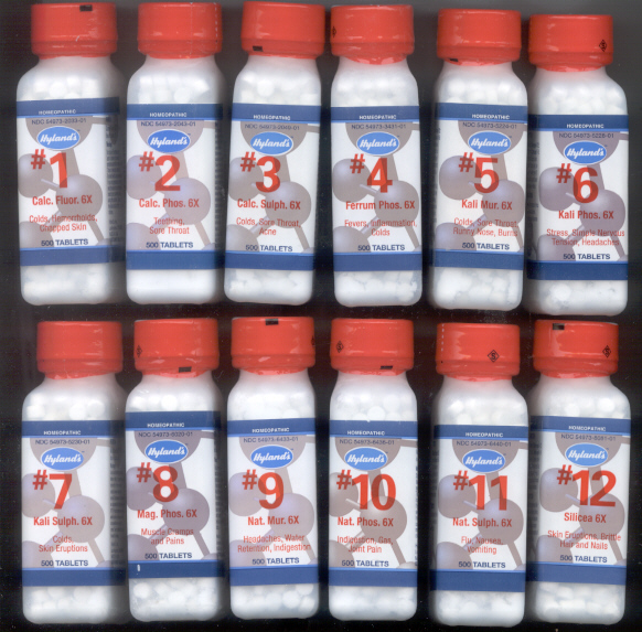 Click for details about Cell Salt Set of 12 remedies 6X 15% off SALE